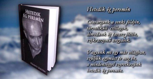 Paudits Zoltán költő 10. kötete kapcsán – Megyek tovább az úton, az utamon…