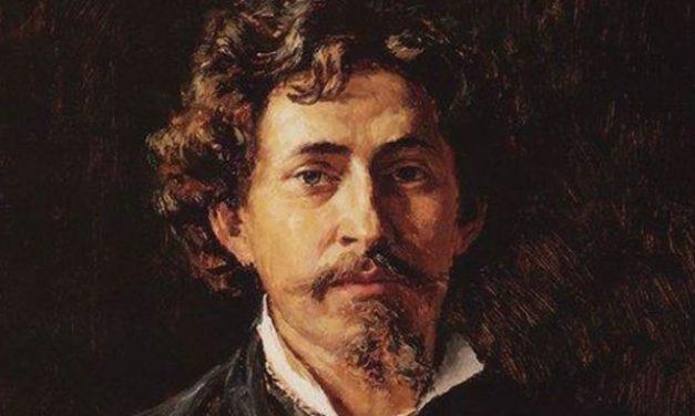175 éve született REPIN, a Hajóvontatók a Volgán c. közismert festmény alkotója