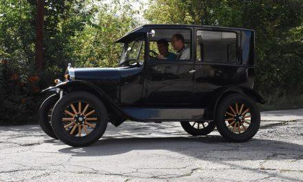 Páratlan Ford T-modell került a Közlekedési Múzeum tulajdonába