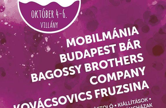 Októberben ismét lesz Villányi Vörösbor Fesztivál