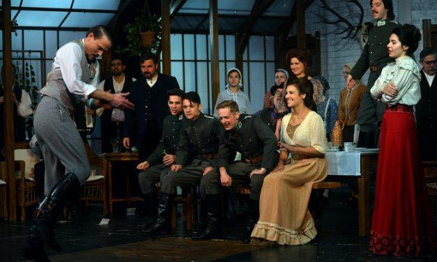 Feketeszárú cseresznye  – Hunyady Sándor színjátékának bemutatója Miskolcon