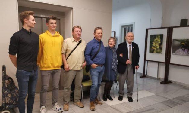 Kiss András fotóművész az Iparkamarában ünnepelte utolsó, 89. születésnapját