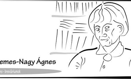 Breviáriumok – Nemes Nagy Ágnes