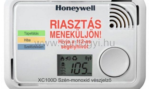 Mindig legyen a lakásban szén-monoxid érzékelő!