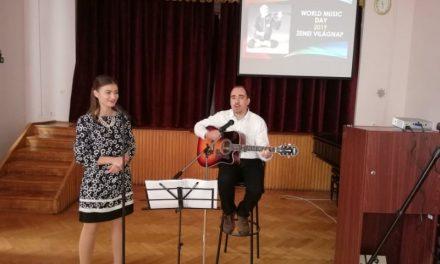 A Zene Világnapját ünnepelték a Neumann János Egyetemen