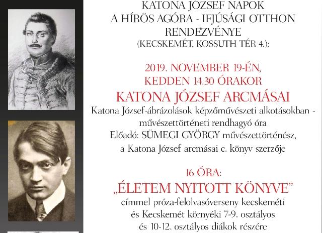Művészettörténeti óra és felolvasóverseny a Katona Napokon