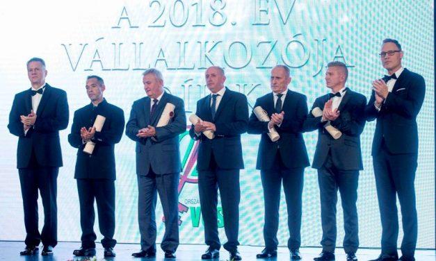 VOSZ – A 2019-es év Vállalkozói díjai