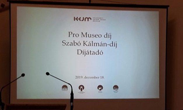 Pro Museo és Szabó Kálmán-díjak a Kecskeméti Katona József Múzeumban