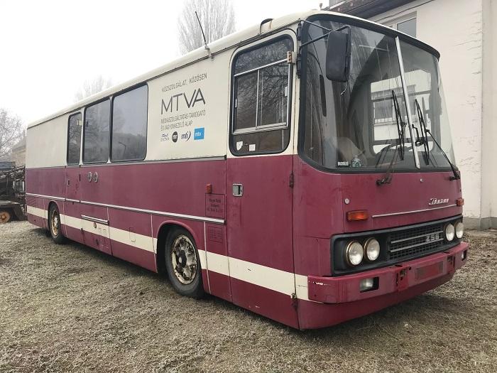Az MTVA ajándéka a Közlekedési Múzeumnak