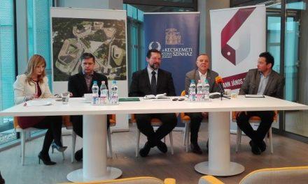 Stratégiai megállapodást kötött a Katona József Színház és a Neumann János Egyetem