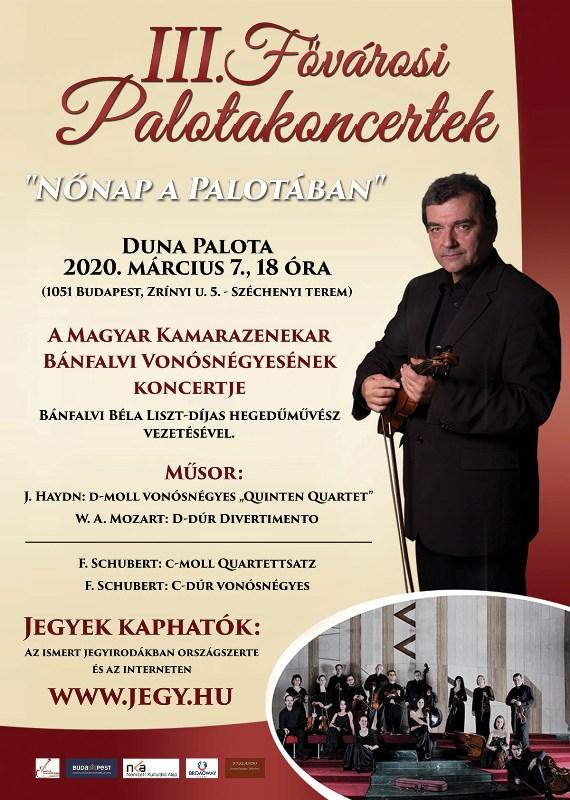 III. Fővárosi Palotakoncertek a Duna Palotában
