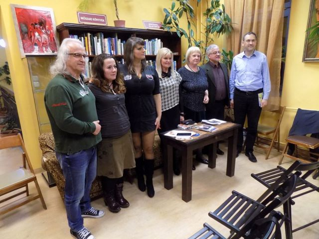 Újpesten, a Krúdy Irodalmi Kör összejövetelén jártunk
