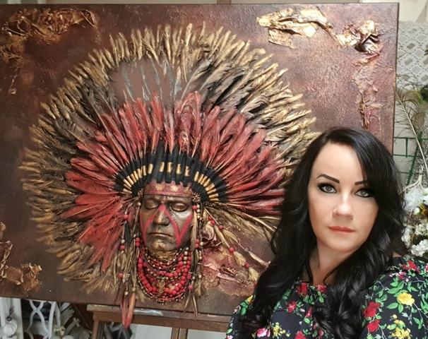 Hanicz Rita paverpol oktató, textilszobrász