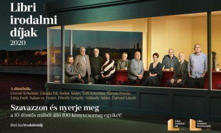 Libri irodalmi díjak 2020 – Megvannak a döntősök!