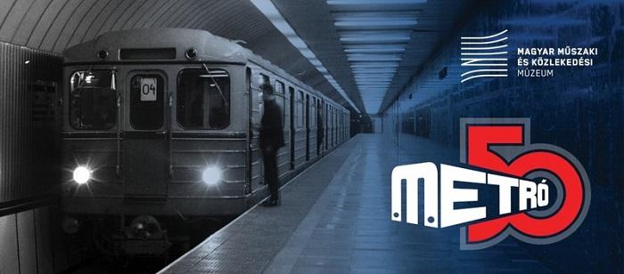 50 éves a 2-es metróvonal – Virtuális kiállítás