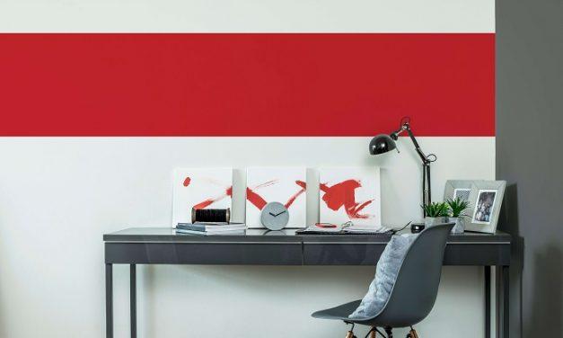 Éljünk a színek erejével! – Teremtsünk inspiráló home office-t!