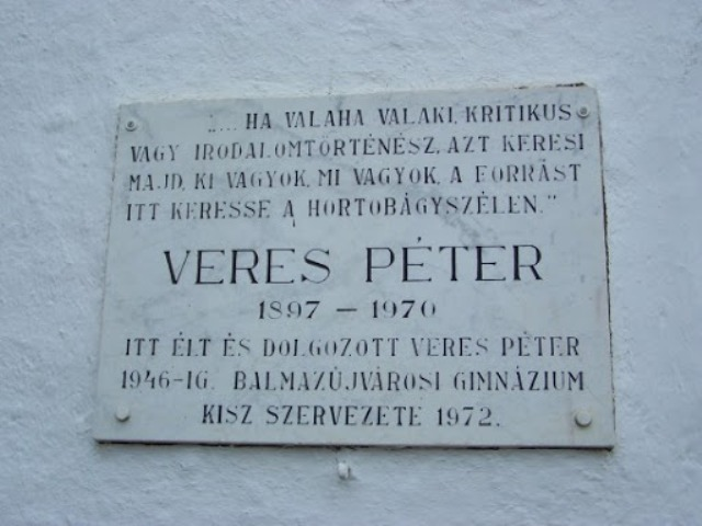 """Aki """"nem mehetett el innen""""… – 50 éve hunyt el Veres Péter"""