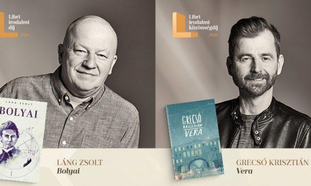 Átadták a 2020-as Libri irodalmi díjakat