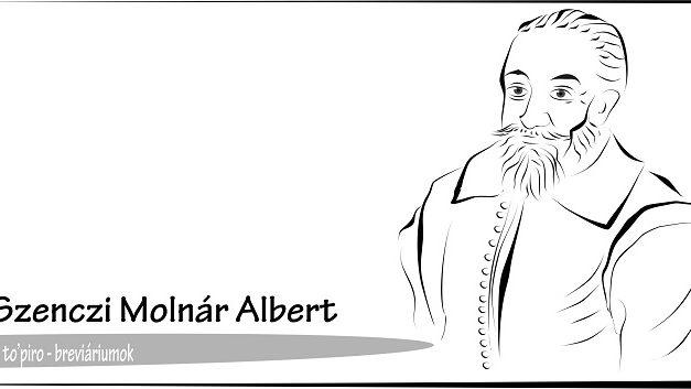 Szenczi Molnár Albert – Breviáriumok