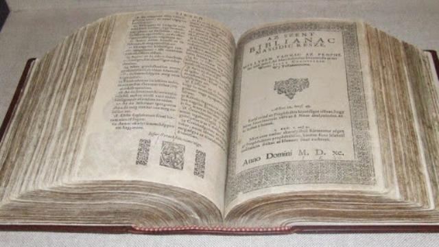 A Könyvek Könyve – 430 éves a Vizsolyi Biblia