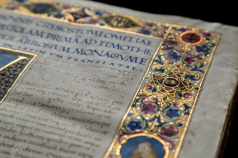 Az otthonából is bejárhatja Mátyás király díszkönyvtárát