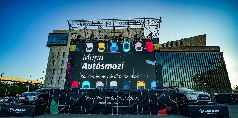 Július 1-jén kinyitott a Müpa autós koncertmozija