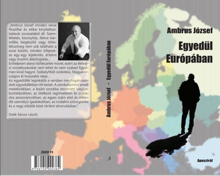 Egyedül Európában – Ambrus József költő új kötete