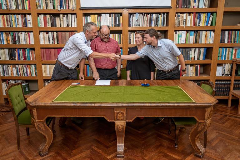 Négy múzeum együttműködési megállapodása