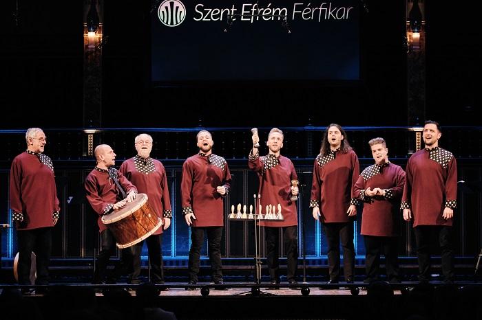 A Szent Efrém Férfikar és Nektaria Karantzi művésznő koncertje