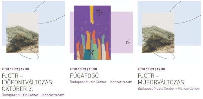 Indulnak az Óbudai Danubia Zenekar sorozatai