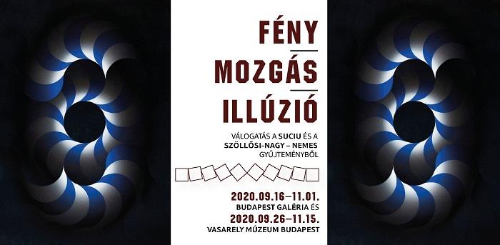 Fény – Mozgás – Illúzió a Vasarely Múzeumban