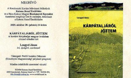 Kortárs kárpátaljai magyar irodalom – Lengyel János
