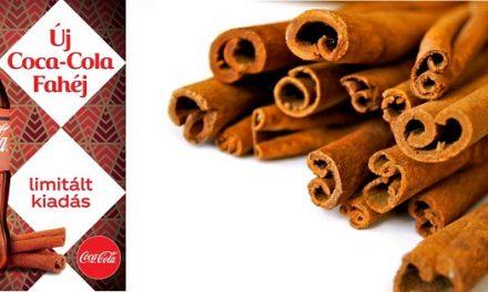 Limitált kiadású Coca-Cola Zero Fahéj – Karácsonyi palackba zárva