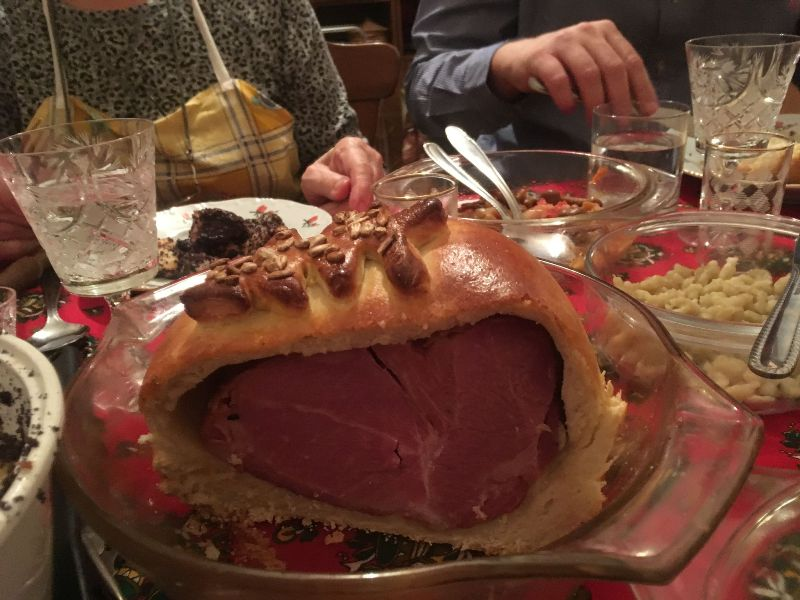 Cipóban sült csülök karácsonyra