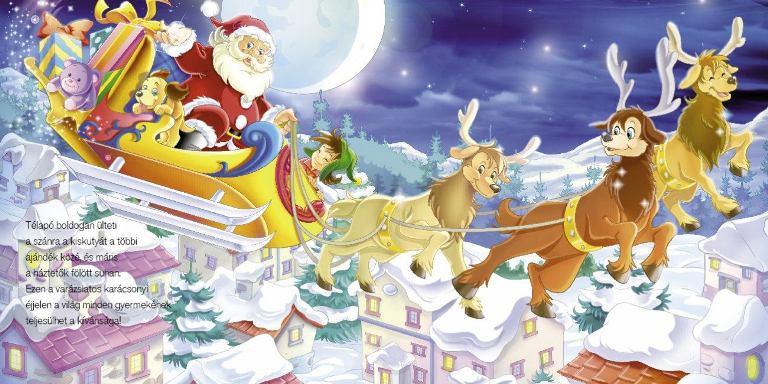 DECEMBER – Karácsony hava – Hónapsoroló
