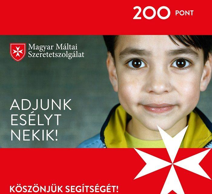 Karitatív kampány az OMV Hungária és a Magyar Máltai Szeretetszolgálat együttműködésében