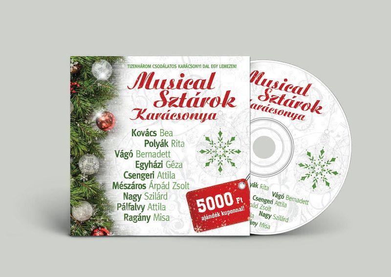 Új ünnepi album: jön a Musical Sztárok Karácsonya