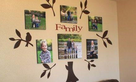 Otthon, édes otthon, avagy a családi fotófal varázsa
