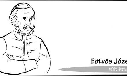 Breviáriumok – Eötvös József jogász, író