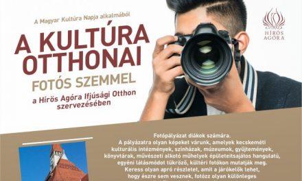 Fotópályázat a kultúra otthonairól