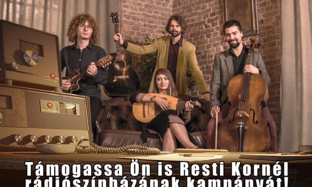 Resti Kornél zenekar – Támogatói pályázat