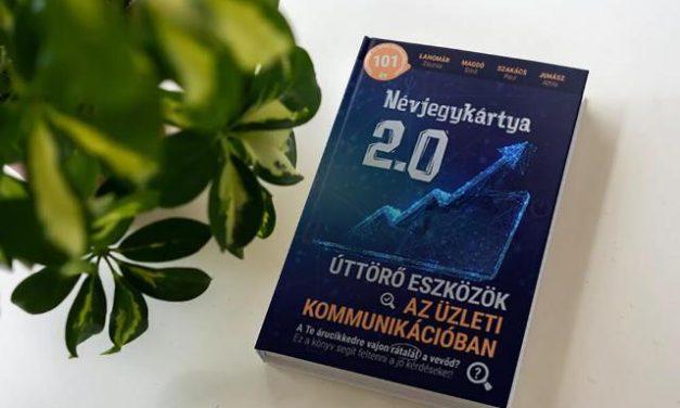 Névjegykártya 2.0 – Új könyv segíti a cégek online kommunikációját