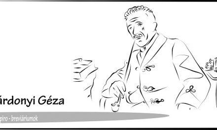 Gárdonyi Géza író, költő, drámaíró – Breviáriumok