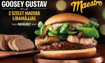 A McDonald's szendvicse újra hungarikumként érkezett