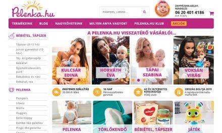 A Pelenka.hu az ország kedvenc baba-mama boltja