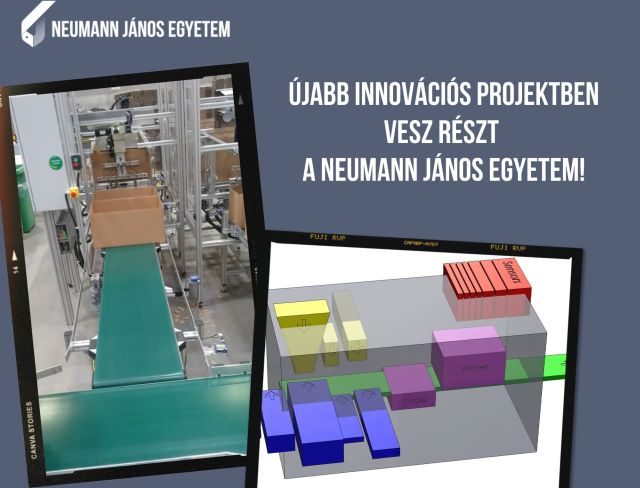 Új innovációs projekt a Neumann János Egyetemen!