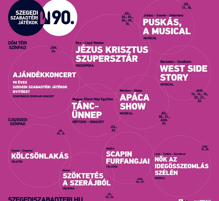 A Szegedi Szabadtéri Játékokra gőzerővel készülődnek