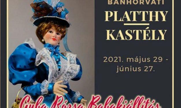 Guba Rózsa Babakiállítás a bánhorváti Platthy-kastélyban