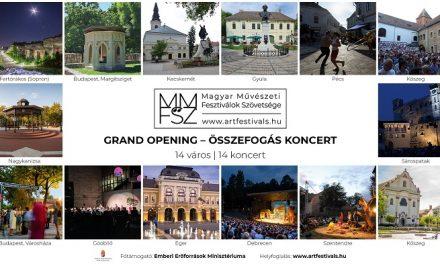 """""""Grand Opening – Összefogás"""":  Az első élő kulturális találkozás hétvégéje!"""