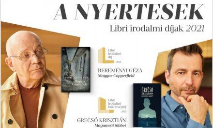 Libri irodalmi díjak – Átadták a 2021-es díjakat!